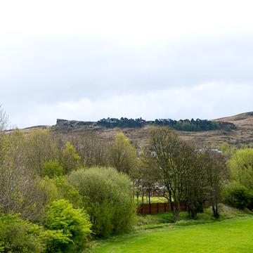views of Ilkley Moor