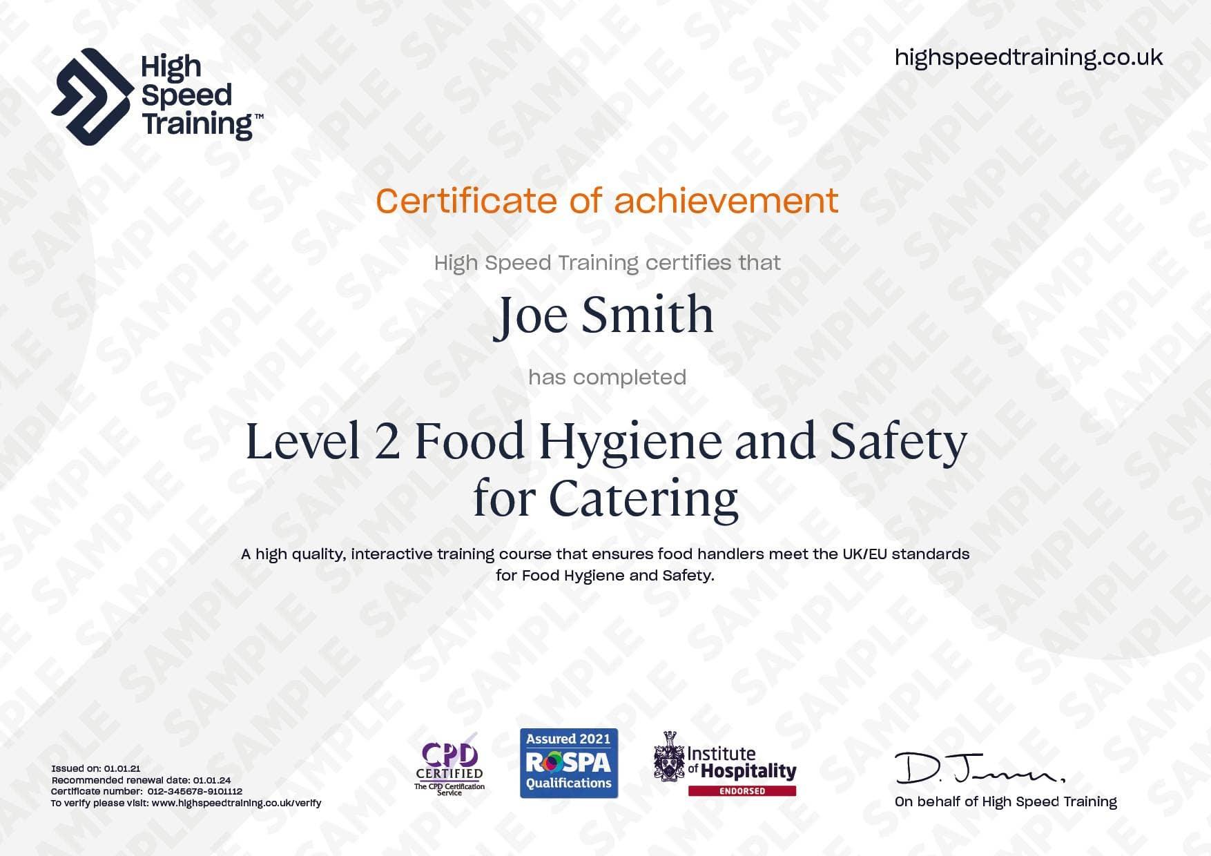 Verified Certificate