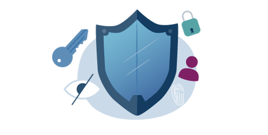 Illustration of safety badge