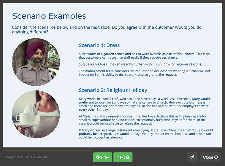 Screenshot 02 - Cross Cultural Awareness
