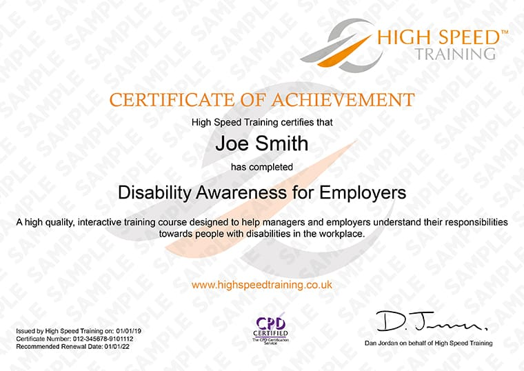 how to make disability certificate