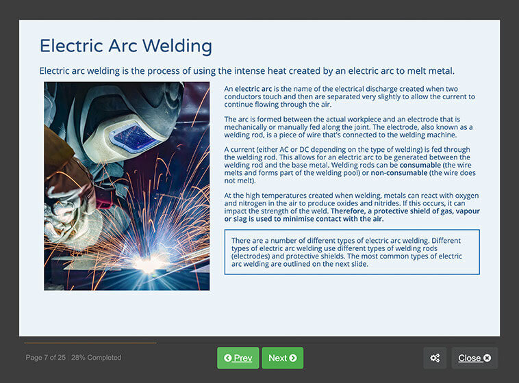 Screenshot 03 - Welding Safety