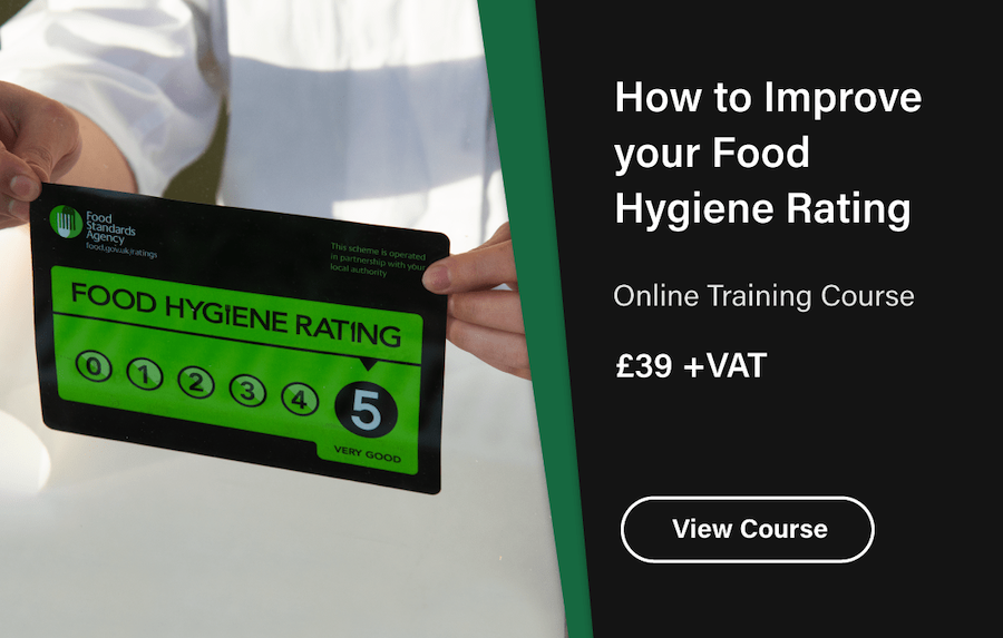 How to Improve Your Food Hygiene Rating Advert