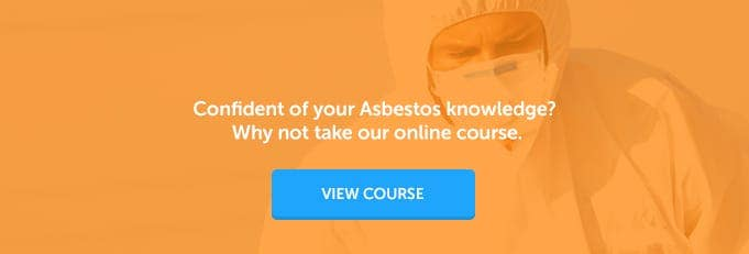 Asbestos Awareness Online Course Banner from High Speed Training