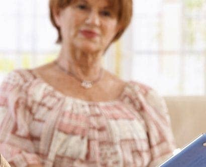 caregiver discusses with service user