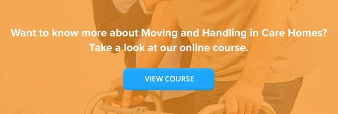 Move and Handling in Care Homes Online Training From High Speed Training