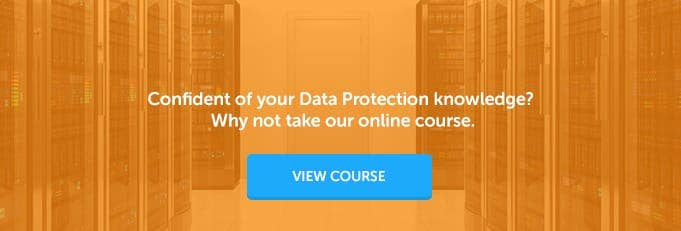Data Protection Act Online Training Course Banner from High Speed Training