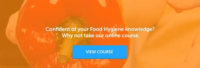 Level 2 Food Hygiene Online Training Course Banner from High Speed Training