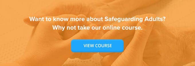 Safeguarding Vulnerable Adults Online Training Course Banner from High Speed Training
