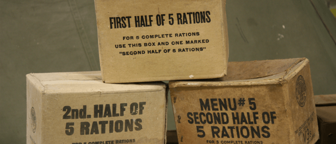 war food rations