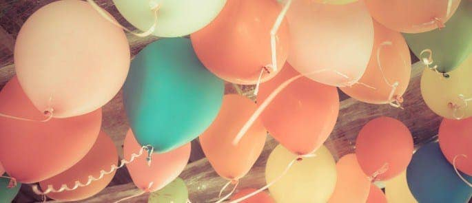 Vintage balloons
