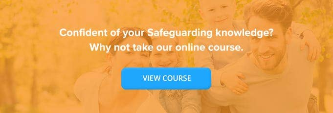 Introduction to Safeguarding Children Online Training Course Banner from High Speed Training