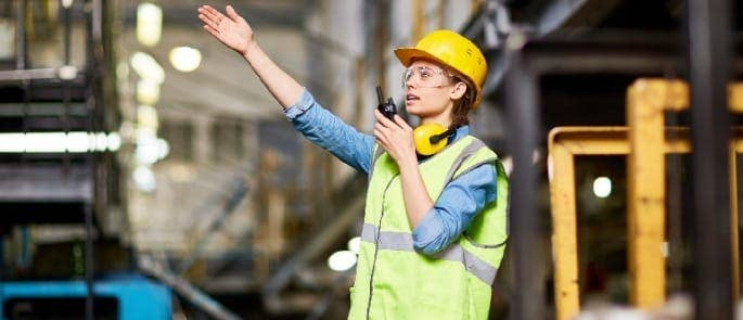 noise talking communication construction