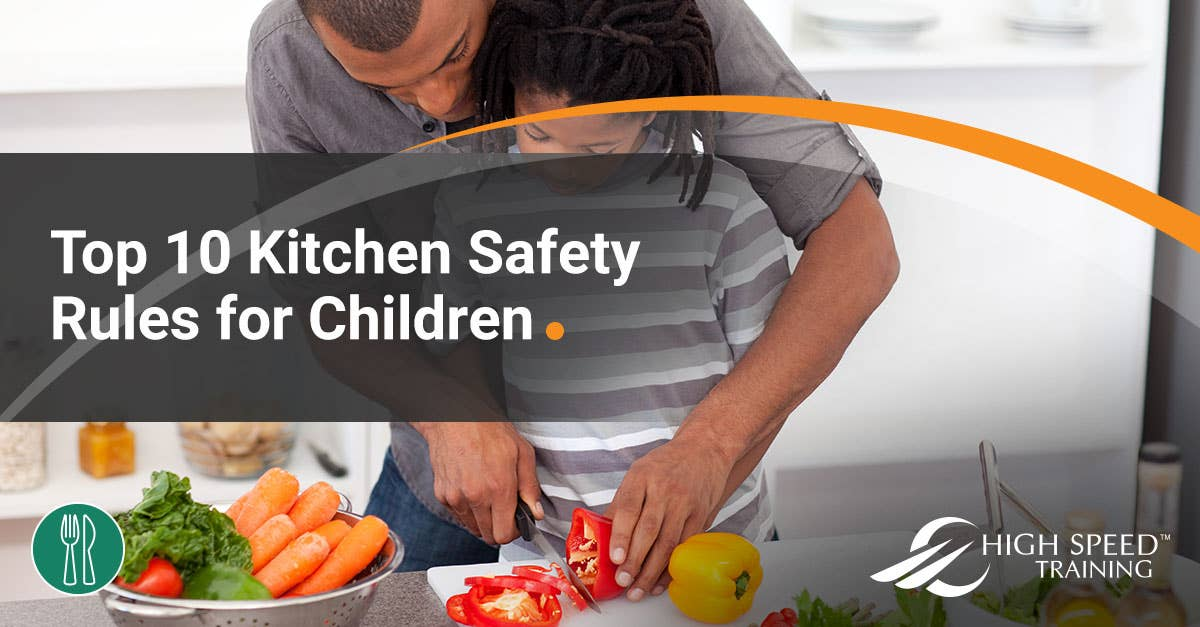 The 10 Kitchen Safety Rules That Kids Need To Know