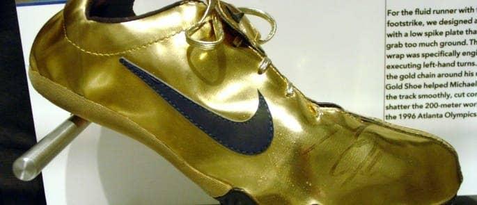 Golden_shoes_Michael_Johnson
