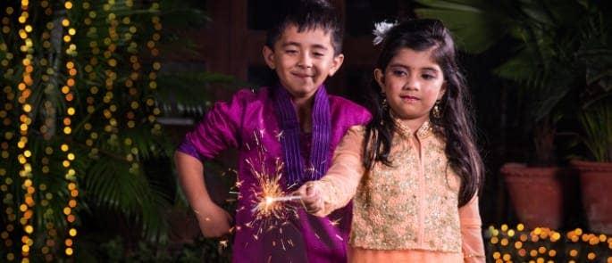sparklers children