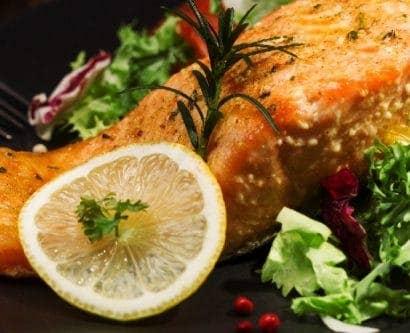 balanced diet eatwell guide salmon salad