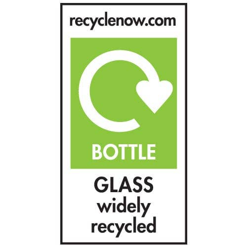 Recycle Now label sign