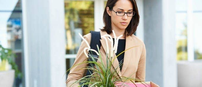 employee being dismissed on gardening leave