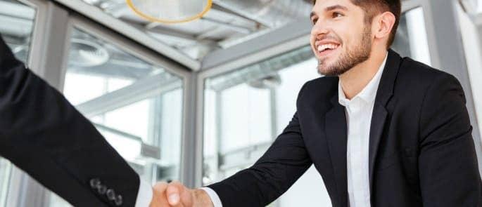 male interview attire