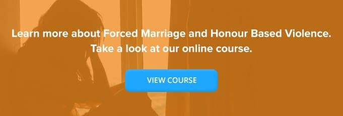 Forced Marriage & Honour Based Violence Training From High Speed Training