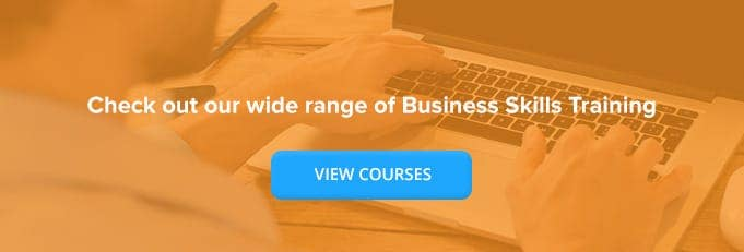 Online Business Skills Courses Online Training Course Banner from High Speed Training