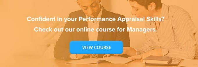 Performance Appraisal for Managers Online Training Course Banner from High Speed Training