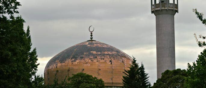 A Mosque in London, England