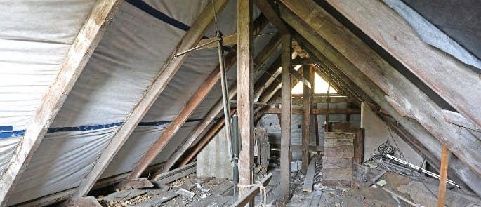asbestos-attic