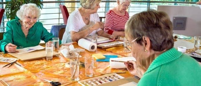 social activity care home