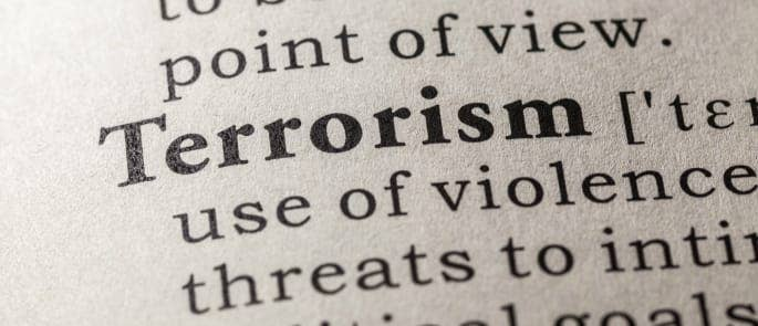 Definition of the terrorism