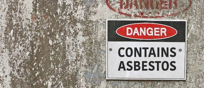 identifying asbestos hazards