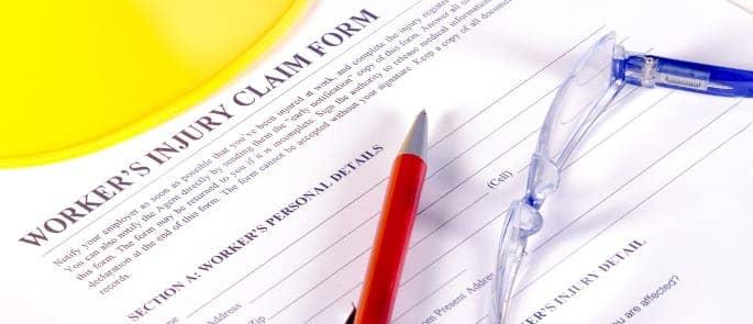 worker's claim injury form