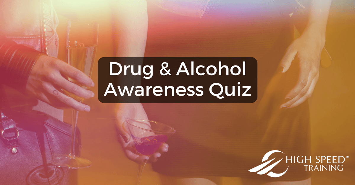 image about Printable Substance Abuse Quiz titled Drug and Liquor Know-how Quiz Substantial Tempo Doing exercises