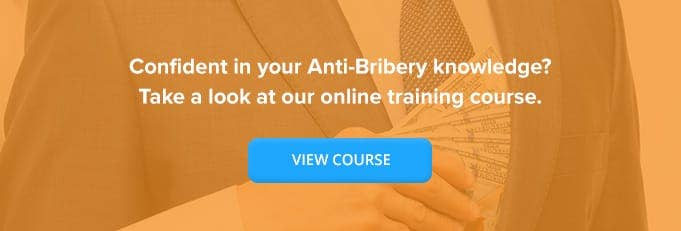 Anti Bribery Online Training From High Speed Trainiing