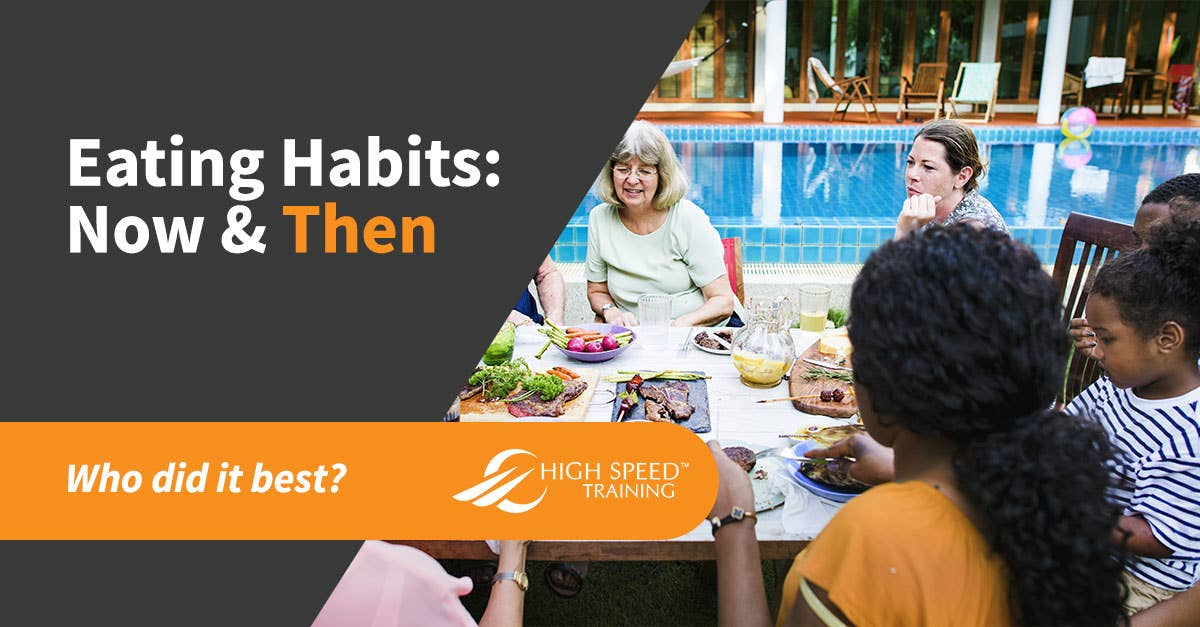 Changes in Eating Habits - Comparing Diets With Your