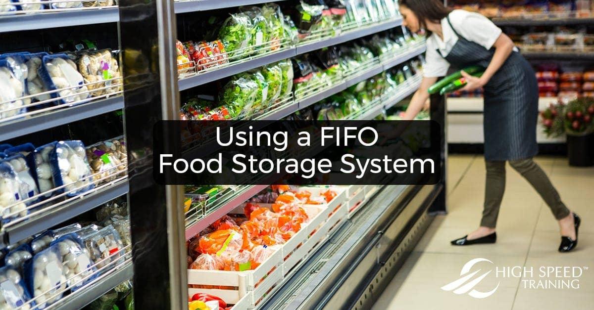 Using A Fifo Food Storage System Advice Amp Checklist