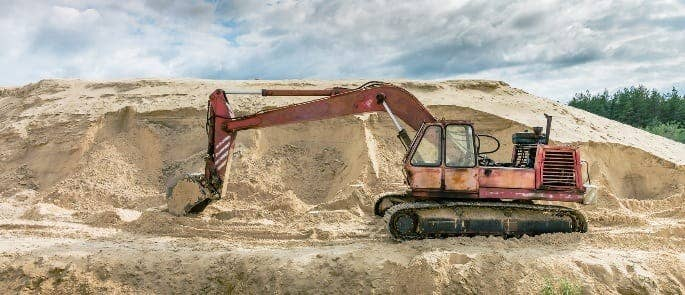 Non-lifting Excavator