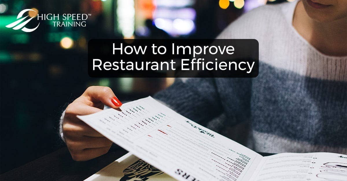 How to Improve Restaurant Efficiency   Tips for Managers & Staff