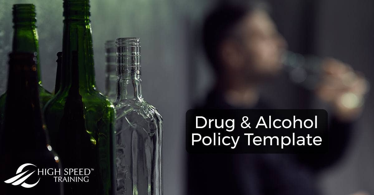 drug and alcohol policy template free download