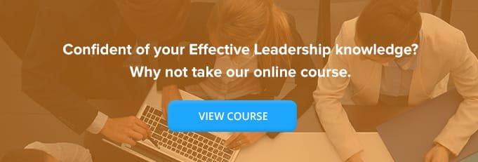 Effective Leadership Training from High Speed Training