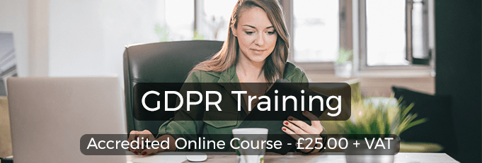 GDPR Online Training From High Speed Training