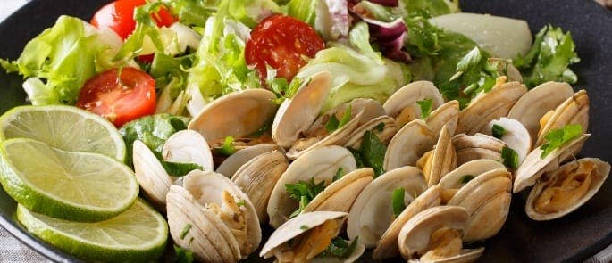 clams salad