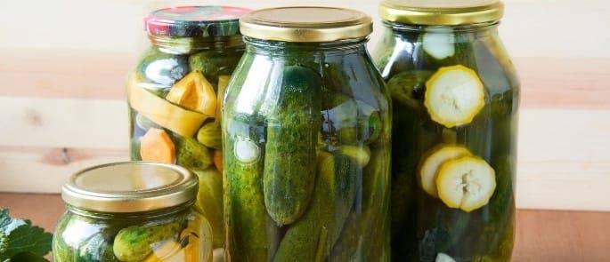 pickled food salting preservation
