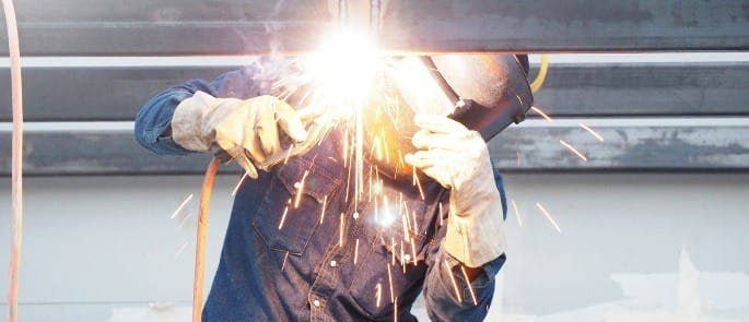 Using PPE to avoid hazards associated with welding