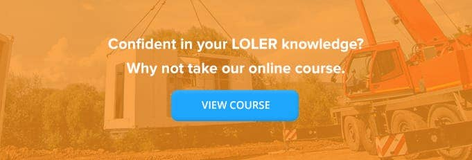 Online LOLER Training Course From High Speed Training