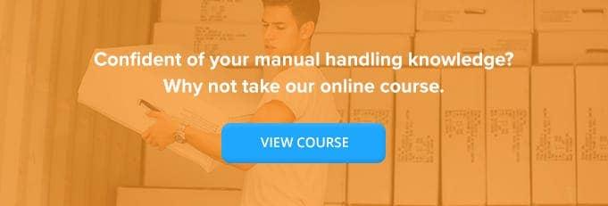 Online Manual Handling Training From High Speed Training