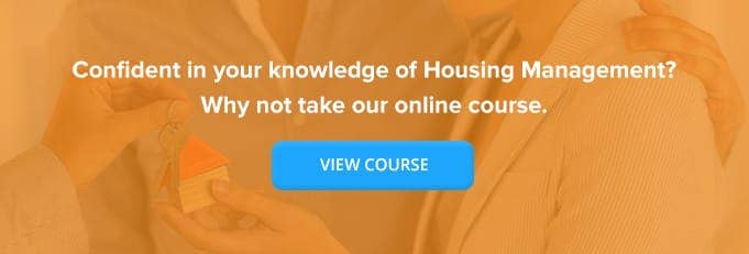 Housing Management Online Training From High Speed Training