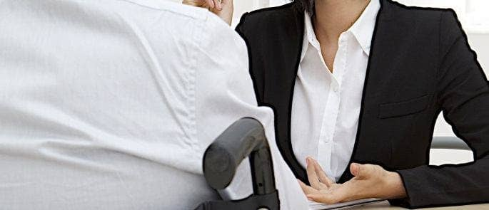 person with disability interview