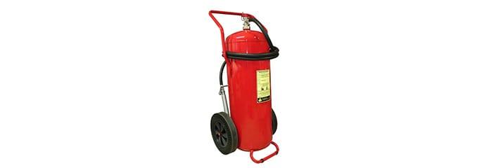 wheeled foam fire extinguisher